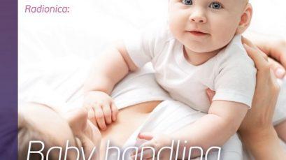"""KANCELARIJA ZA MLADE OPŠTINE STARI GRAD: RADIONICA """"PRAVILNO POSTUPANJE SA BEBOM"""" (BABY HANDLING)"""